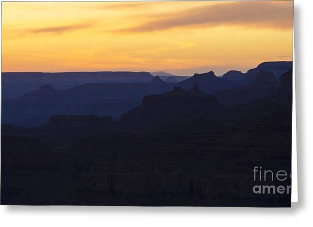 Grand Canyon Layers Of Time Greeting Card