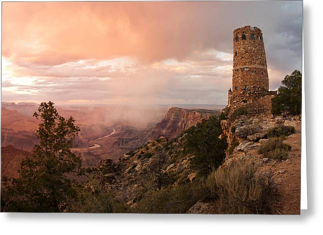 Grand Canyon Greeting Card by Lee Chon