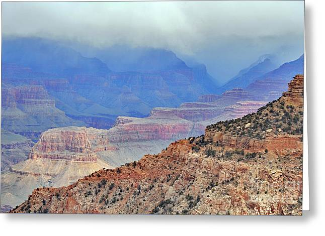 Grand Canyon Levels Greeting Card