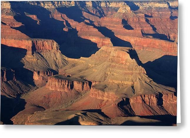 Grand Canyon Light  Greeting Card by Aidan Moran