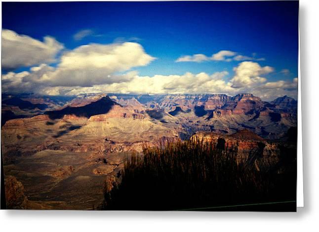 Grand Canyon Greeting Card by Luca Baldassari