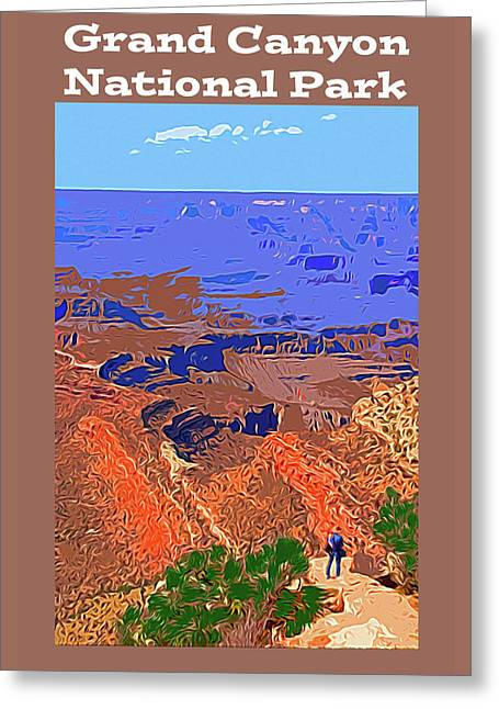 Grand Canyon Np Greeting Card by Bruce