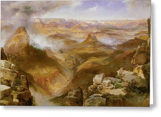 Grand Canyon Of The Colorado Greeting Card