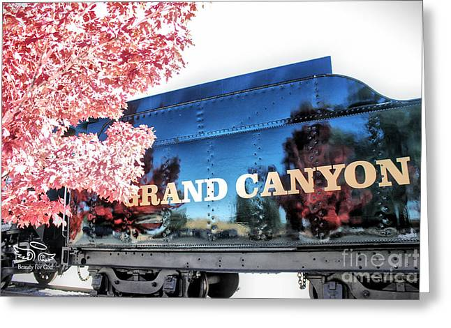 Greeting Card featuring the photograph Grand Canyon Railroad by Beauty For God