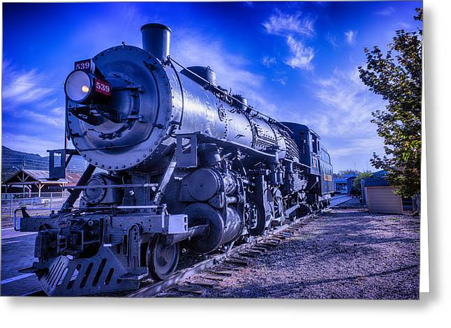 Grand Canyon Railway Greeting Card by Garry Gay