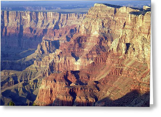 Greeting Card featuring the photograph Grand Canyon South Rim by Norman Hall