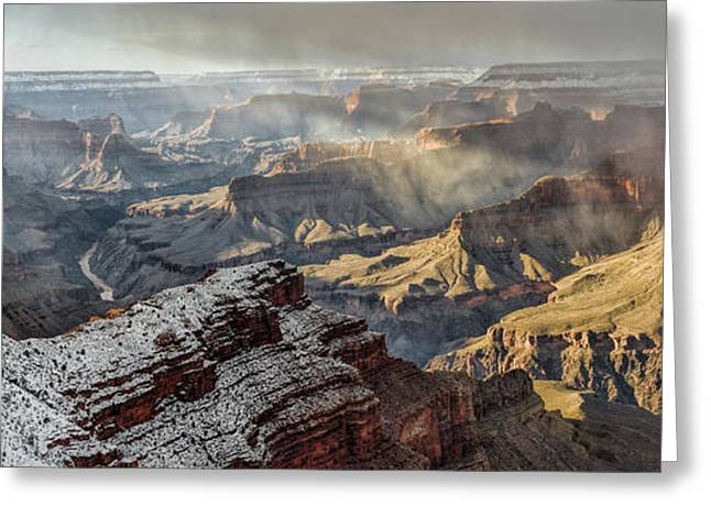 Grand Canyon Storm Greeting Card