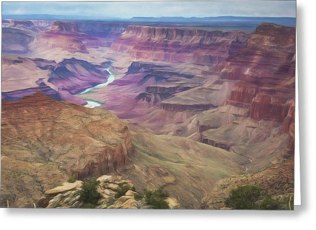 Grand Canyon Suite Greeting Card