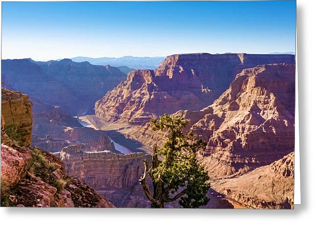 Grand Canyon View Greeting Card by Lutz Baar