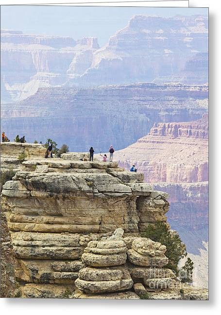 Greeting Card featuring the photograph Grand Canyon Vista by Chris Dutton