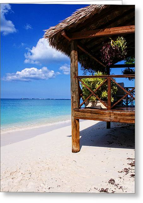 Grand Cayman Relaxing Greeting Card by Ryan Burton
