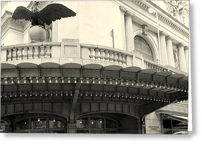 Grand Central Detail Greeting Card by Dan Stone