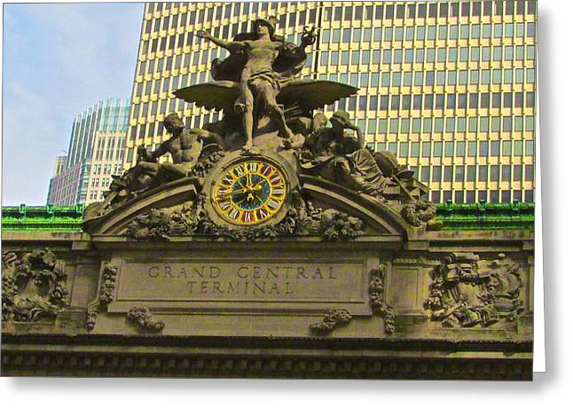 Grand Central Entrance Greeting Card