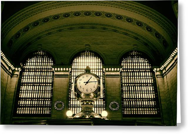 Grand Central  Greeting Card by Jessica Jenney
