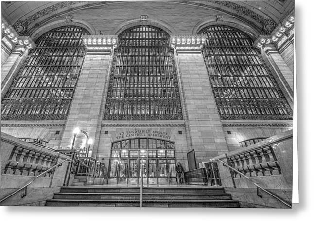 Grand Central Station Greeting Card by Michael  Bennett