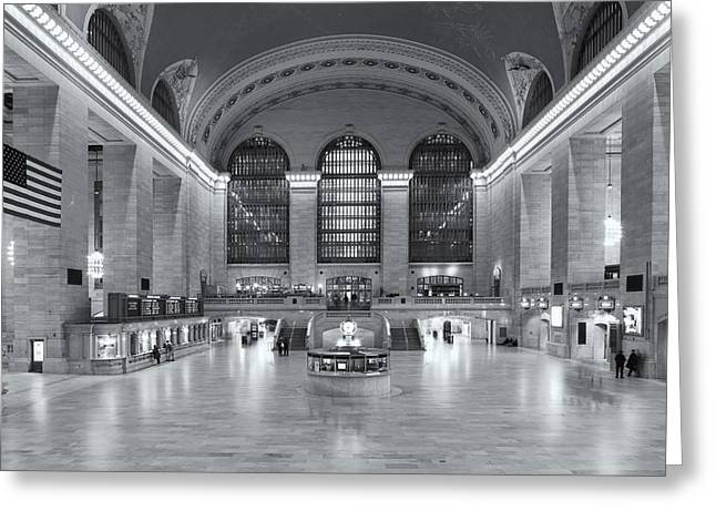 Concourse Greeting Cards - Grand Central Terminal II Greeting Card by Clarence Holmes