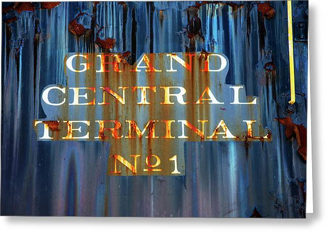 Greeting Card featuring the photograph Grand Central Terminal No 1 by Karol Livote