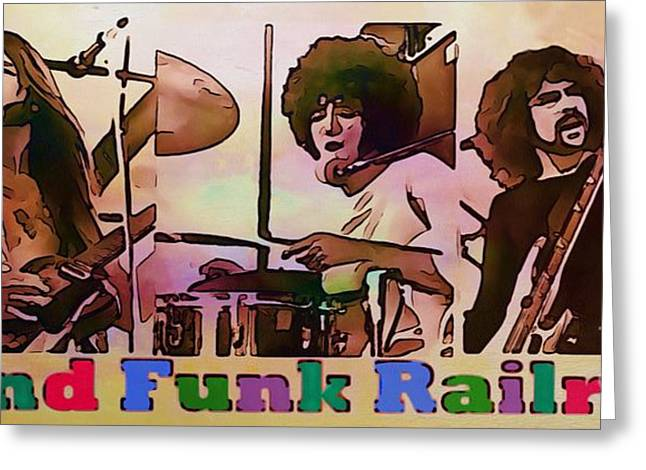 Grand Funk Railroad Greeting Card