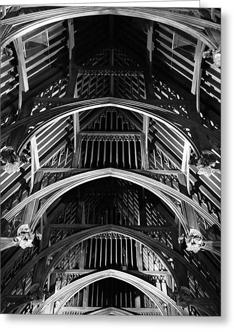 Grand Hall Ceiling Greeting Card
