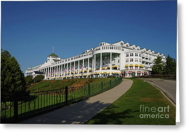 Grand Hotel Mackinac Island 2 Greeting Card
