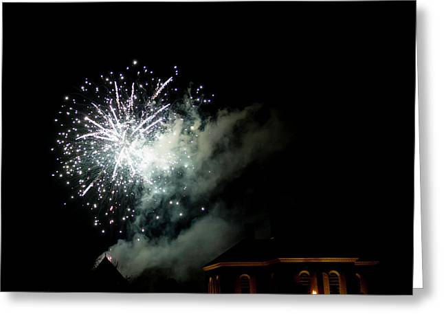 Grand Illumination 2015 03 Greeting Card by Teresa Mucha