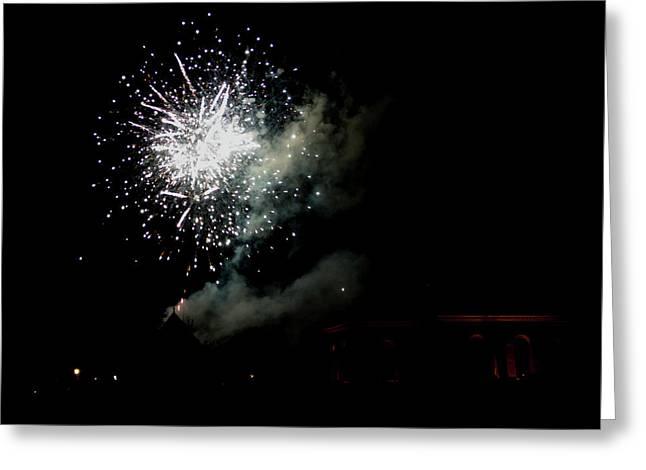 Grand Illumination 2015 05 Greeting Card by Teresa Mucha