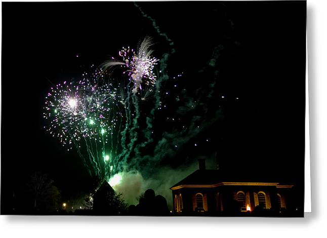 Grand Illumination 2015 09 Greeting Card by Teresa Mucha