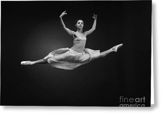 Grand Jete Greeting Card