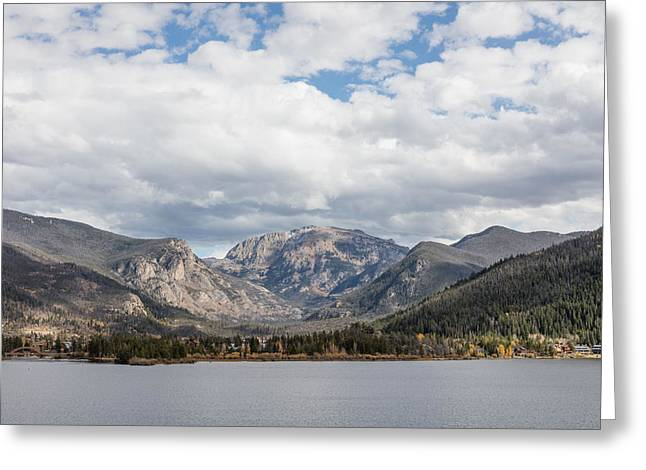 Greeting Card featuring the photograph Grand Lake -- Largest Body Of Water In Colorado by Carol M Highsmith