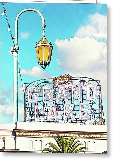 Grand Lake Merritt - Oakland, California Greeting Card
