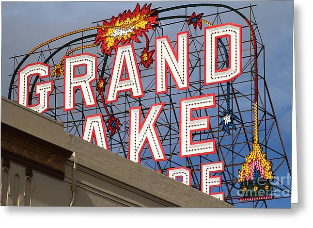 Grand Lake Theatre . Oakland California . 7d13495 Greeting Card