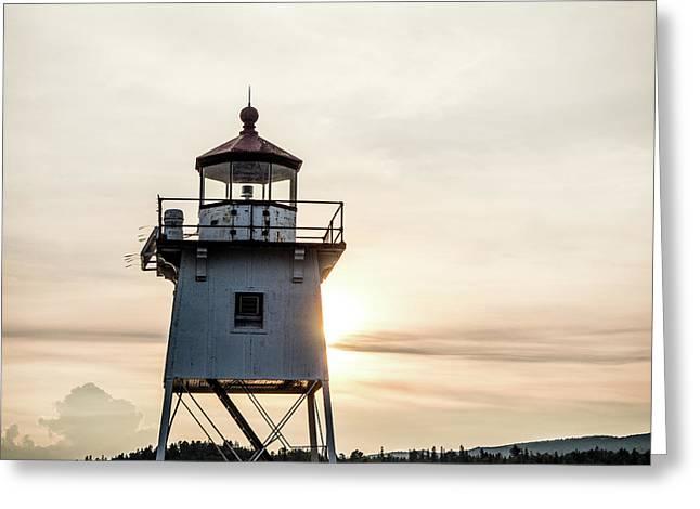 Grand Marais Lighthouse Greeting Card