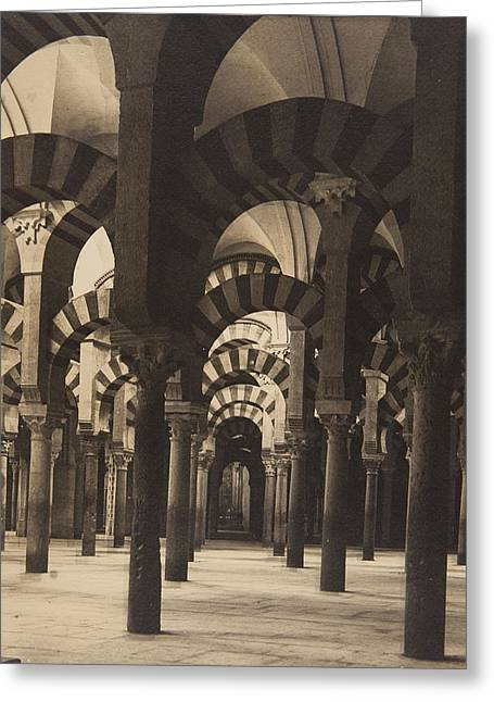 Grand Mosque Cordoba Greeting Card by Claudi Carbonell