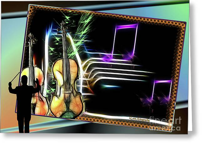 Grand Musicology Greeting Card