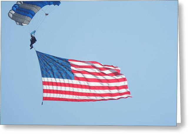 Grand Old Flag Greeting Card