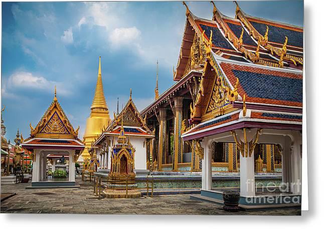 Grand Palace Square Greeting Card