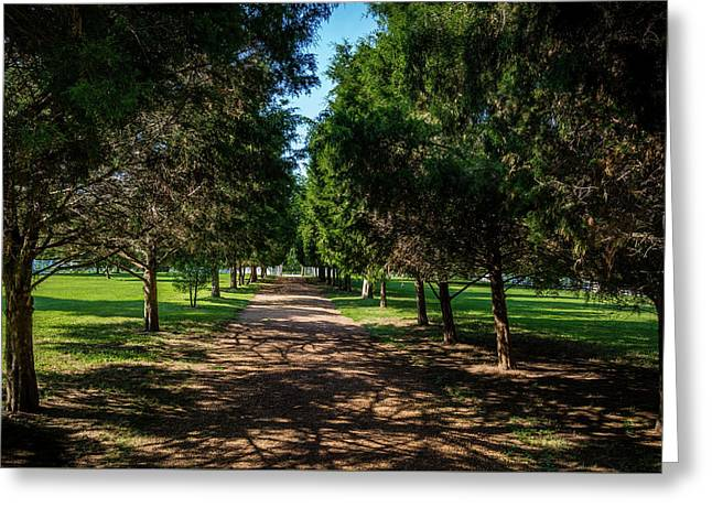 Grand Pathway - The Hermitage Greeting Card