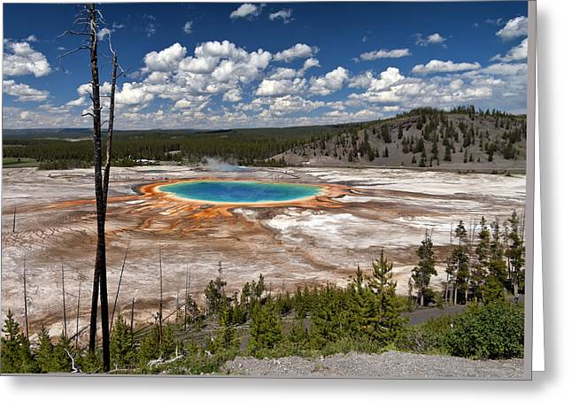 Grand Prismatic Greeting Card