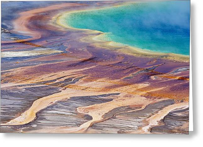 Grand Prismatic Spring 2 Greeting Card