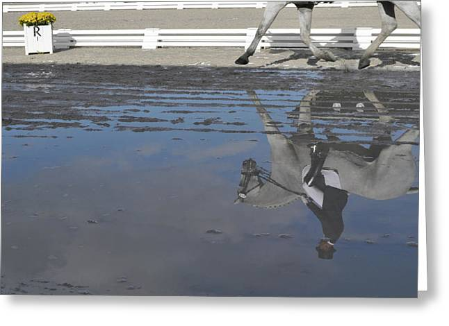 Grand Prix Reflected Greeting Card by JAMART Photography