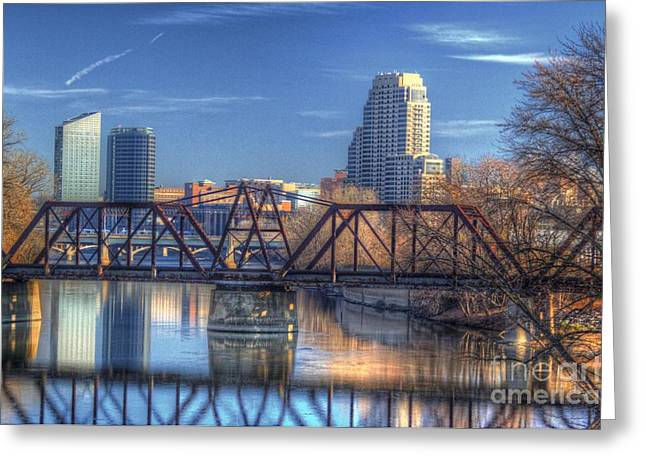 Grand Rapids Mi- 167hdr Greeting Card by Robert Pearson