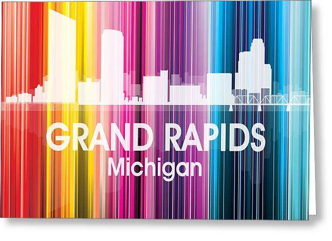 Grand Rapids Mi 2 Squared Greeting Card