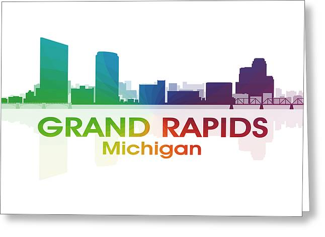 Grand Rapids Mi Greeting Card by Angelina Vick