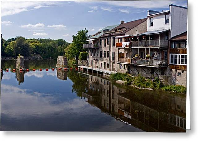 Grand River Houses  Greeting Card