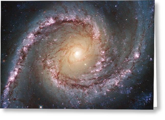 Grand Swirls From Nasa's Hubble Greeting Card