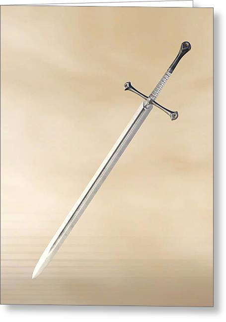 Grand Sword Greeting Card
