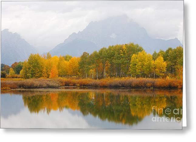 Grand Teton Iv Greeting Card by John Blumenkamp