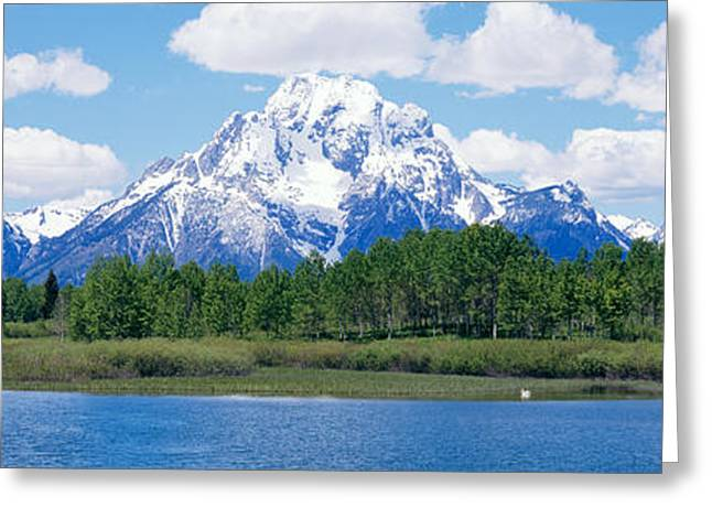 Grand Teton National Park Wy Greeting Card by Panoramic Images