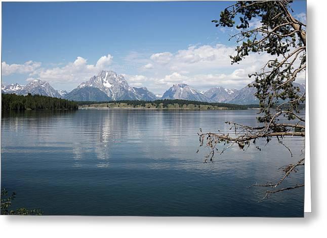 Grand Teton Range Greeting Card