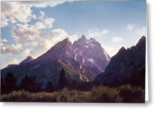 Grand Teton Greeting Card by Scott Norris